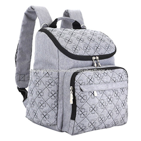 d320a740a34 China Diaper Bag Backpack with Baby Stroller Straps Stylish Travel Designer  and Organizer for Women ...