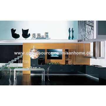 China Project Use Hot Selling Kitchen Furniture Low Price Acrylic