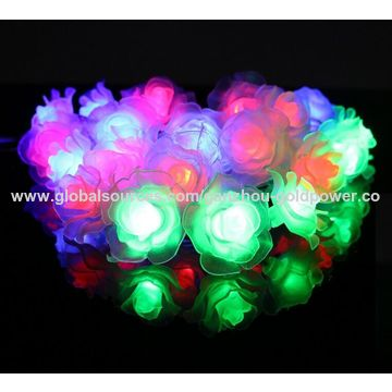 China String Lights for Holiday Decoration