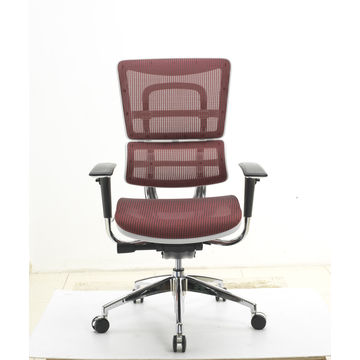 China Red Color Office Mesh Chair Ergohuman