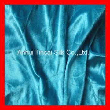 100%Polyester Velour fabric for Coffin Cover 1 )100% Polyester 2