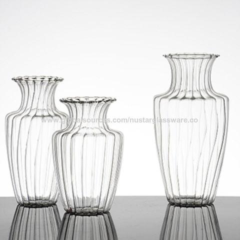 China Borosilicate Glass Rose Vase From Qingdao Wholesaler Qingdao
