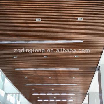 Wood Aluminum U Shape Strip Ceiling China