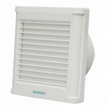 China 6 Inch Louver Bathroom Exhaust Fan With Pull Cord, Full Plastic,  Window