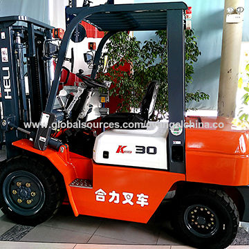 China Diesel Forklift Price Heli Brand 3-ton On Sale CPCD30 Forklift