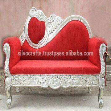 India Wedding Stage Sofa Set U0026 Chairs For Bride U0026 Groom From Classic  Silvocrafts (Indian