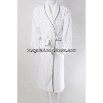 e6aacd94b9 2. Bathroom Linens   (2) Bathrobe - 100% Cotton Velour Shawl Collar ...