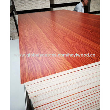 China 6 8 12 17 18mm Melamine Laminated Plywood With E0 From Linyi