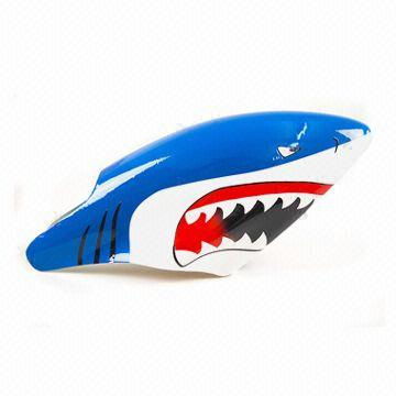 Hong Kong SAR Painted Fiberglass Shark Canopy Canopy Blue for T-rex 450 Series  sc 1 st  Global Sources & Painted Fiberglass Shark Canopy Canopy Blue for T-rex 450 Series ...
