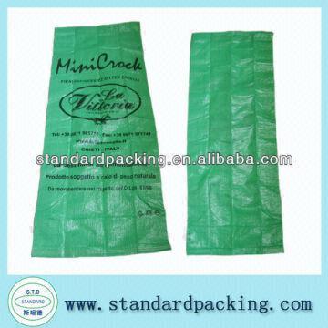 Green Woven Polypropylene Feed Bags China