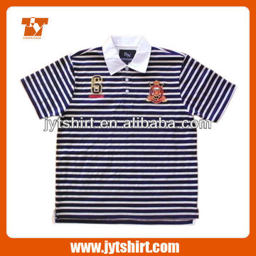 07f898cc8 China Kids Polo Shirts Wholesale Short Sleeve Polo with Horizontal Stripes