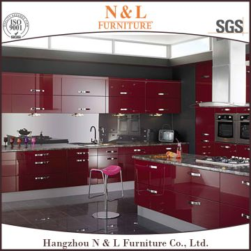 Magnificent High Gloss Red Lacquer Best Custom Kitchen Cabinets Global Home Interior And Landscaping Analalmasignezvosmurscom