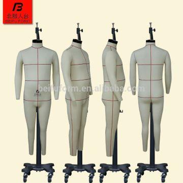 European Men Standard Toilet Plus Size Seamstress Mannequin Dress