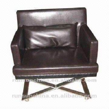 China SX 126 Nursing Home Furniture Leisure PU Leather Chair/modern Baroque  Furniture Leather