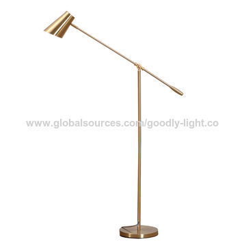 Arc Floor Lamp Portable Led Light, Floor Lamp With Dimmer Switch And Adjustable Arm