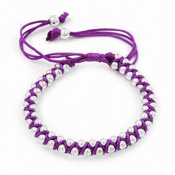 China New Trendy Handmade Bracelets With S Designer Cotton Friendship