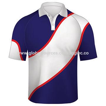 ad8f653e2 China Custom-made dye sublimation polo shirts, made of the latest technical  fabric,