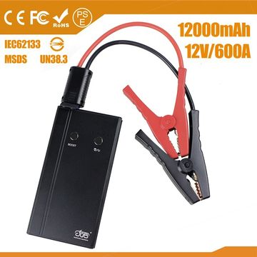 China Mini Portable Car Jump Starter for 12V Cars Petrol and Diesel Engine