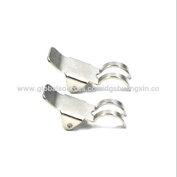 china stainless steel brass metal clip flat spring clip. Black Bedroom Furniture Sets. Home Design Ideas
