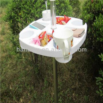 Charming China Beach Umbrella Table
