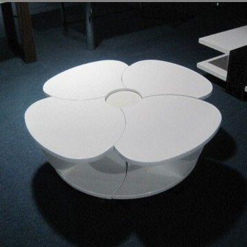 Modern Contemporary Flower Style Coffee Table Newest Design Center