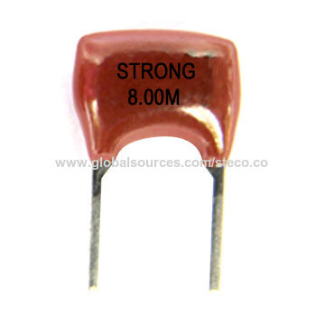 China Ceramic Resonators with Frequency from 6 00 to 13 00MHz on