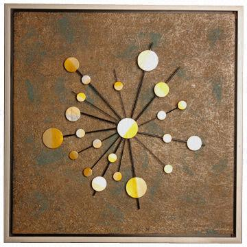 China Starriness Wall Art Of Decorative Elements, Modern Style, Textured  Frame, Made Of