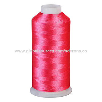 China Embroidery Thread From Ningbo Manufacturer Ningbo Srons