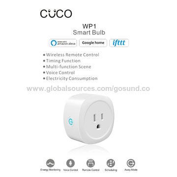 Wi-Fi Smart Plug Mini Outlet, Alexa Plug Smart Socket Works