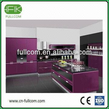 Romantic Purple Modern Kitchen Cabinet Door Global Sources