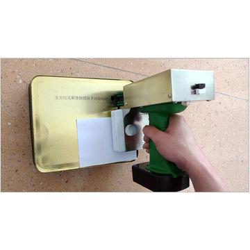 Hot sale easy operate portable inkjet printer for metal