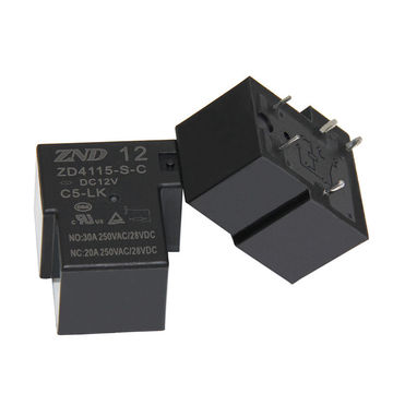 China ZD4115/T90/5-pin 12V 30A Sensitive Power Relay Good Quality