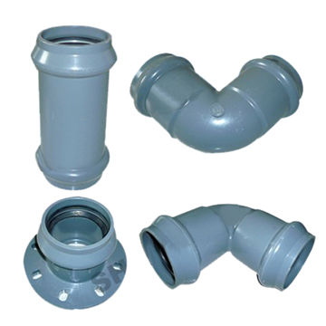 China High pressure PVC pipe fittings on Global Sources