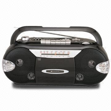Radio Cassete Player and Recorder with Auto Stop System and