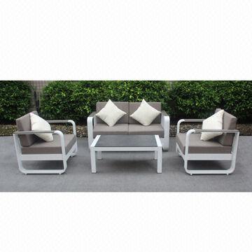 China Fashionable Aluminum Sofa Set, Done With Powder Coating Part 23