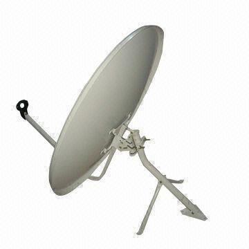 Satellite Dish Antenna, KU-band 60, 75, 80, 90 and 120cm