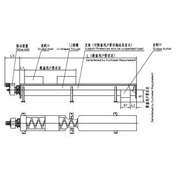 China WLSS Axleless Spiral Conveyor
