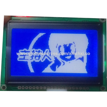 GDM12864H3 graphics LCD modules, 128*64 dots ,small size, used in hand-held terminal.