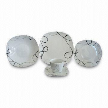 30pcs Square Shape Dinner Set China 30pcs Square Shape Dinner Set  sc 1 st  Global Sources & 30pcs Square Shape Dinner Set Includes 10.5-inch Dinner Plates and ...