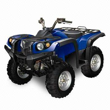 600cc ATV with Water-cooled Engine, Disc Brakes, Independent