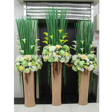 Modern Home Metal Flower Vases High Quality Stainless Steel