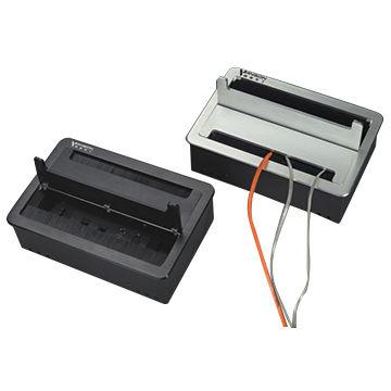 Desk With Power Outlet Desk Design Ideas
