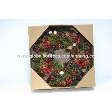 China Christmas Wreath From Dalian Wholesaler Anna Home Garden