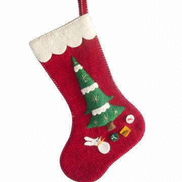 felt christmas stocking nepal felt christmas stocking