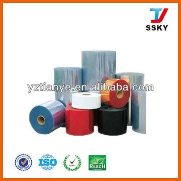 Rigid PVC Sheet - Opaque and Transparet Colored PVC Rolls Virgin ...