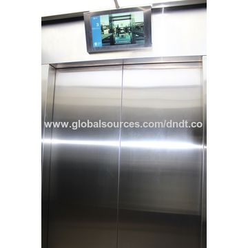 China Etching hairline stainless steel passenger elevator