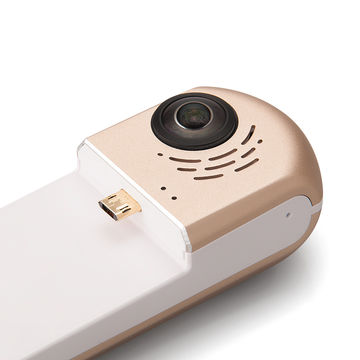 GOLE dual camera 360 video digital camera for Android smartphone USB-C or micro USB port