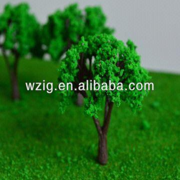 Miniature Architecture Scale Trees/plastic Model Tree for Scenery