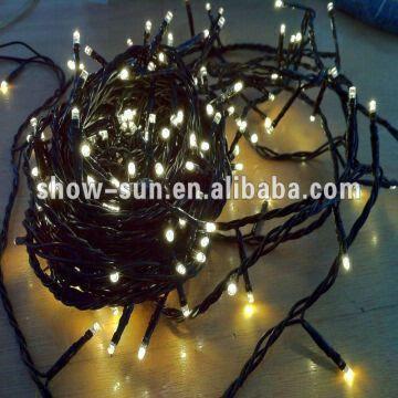 china 200 led 8 function string lights warm white ge led christmas lights
