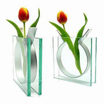 Acrylic Vases Flower Arrangement Vase 4 Section Vase Screen